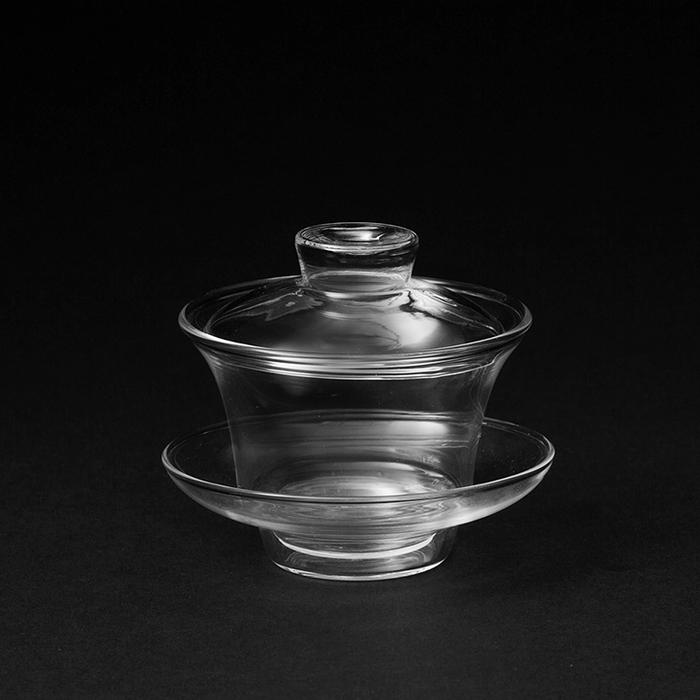 陶作坊|玻璃蓋碗組