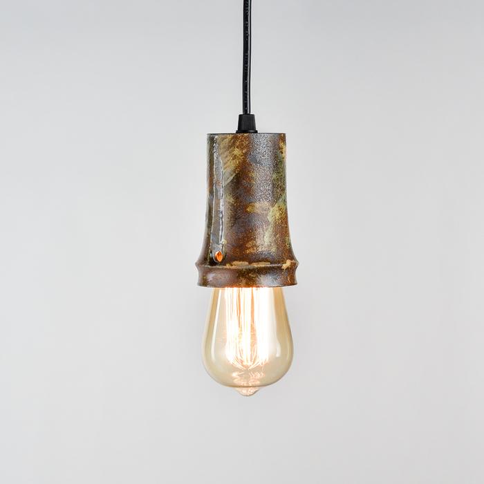 陶作坊|彩釉岩礦創意小吊燈