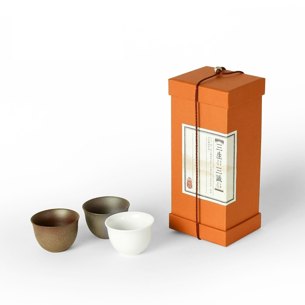 陶作坊|三生三識茶杯二代禮盒組