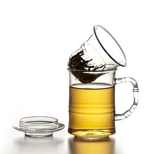 陶作坊│高風亮節玻璃同心杯