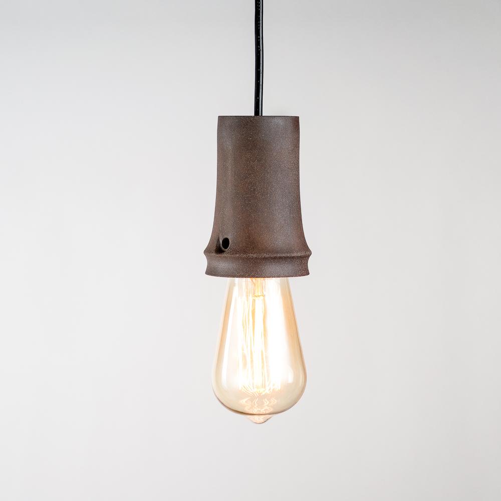 陶作坊|淘寶。陶寶 老岩泥彩釉小吊燈