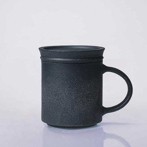 不二堂|T-MUG 黑色岩礦馬克杯(黑膽)