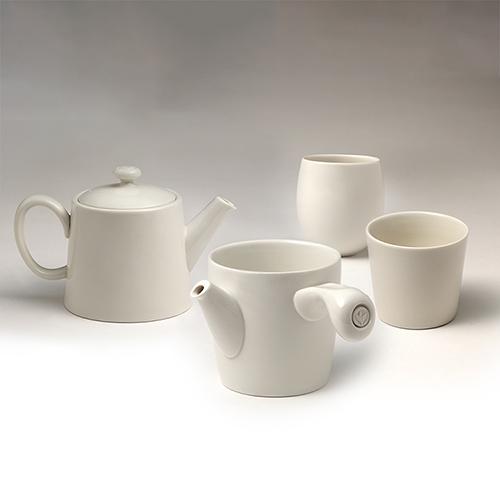 不二堂|白瓷原創茶具組 (1壺1海2杯)