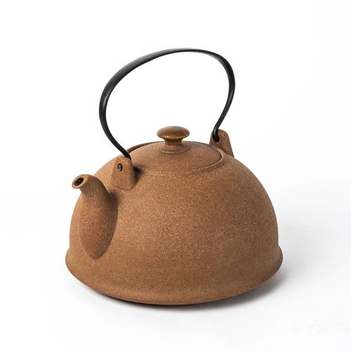 陶作坊|老岩泥十式燒水壺