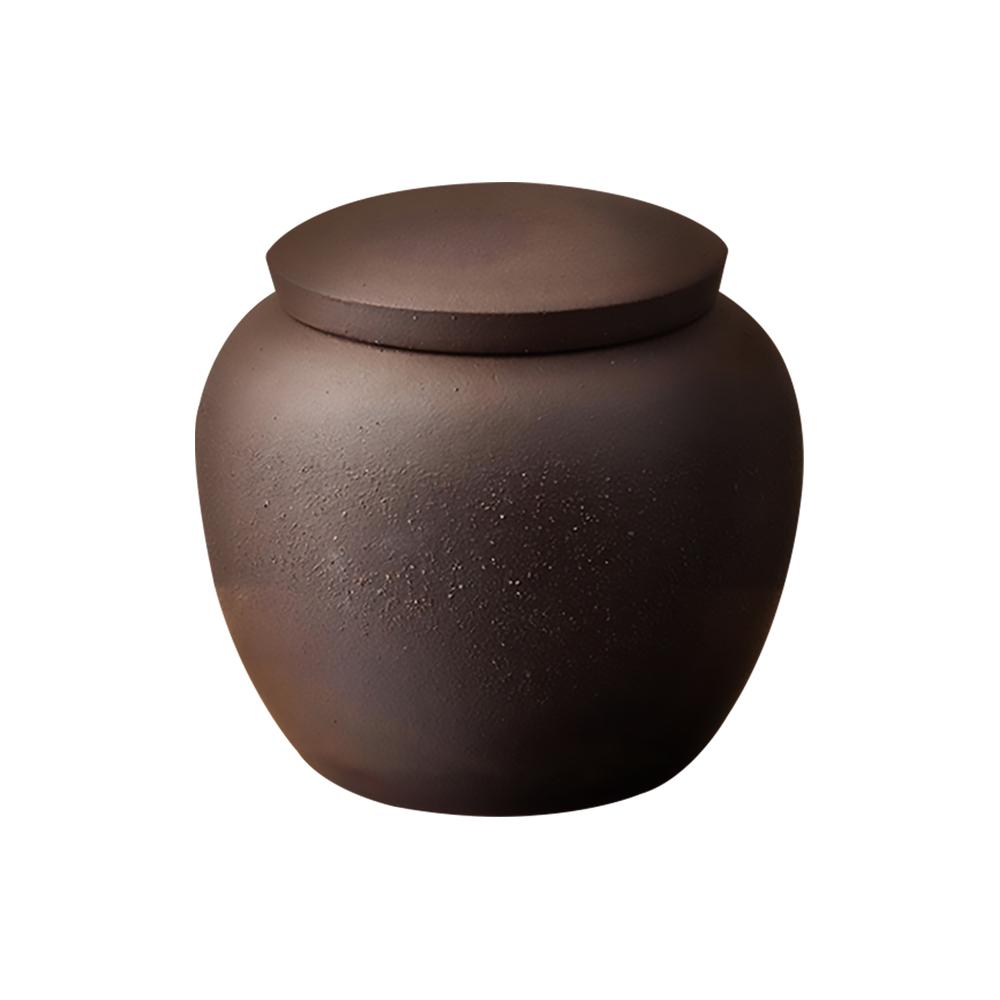 陶作坊|中呆茶葉罐 (岩礦)