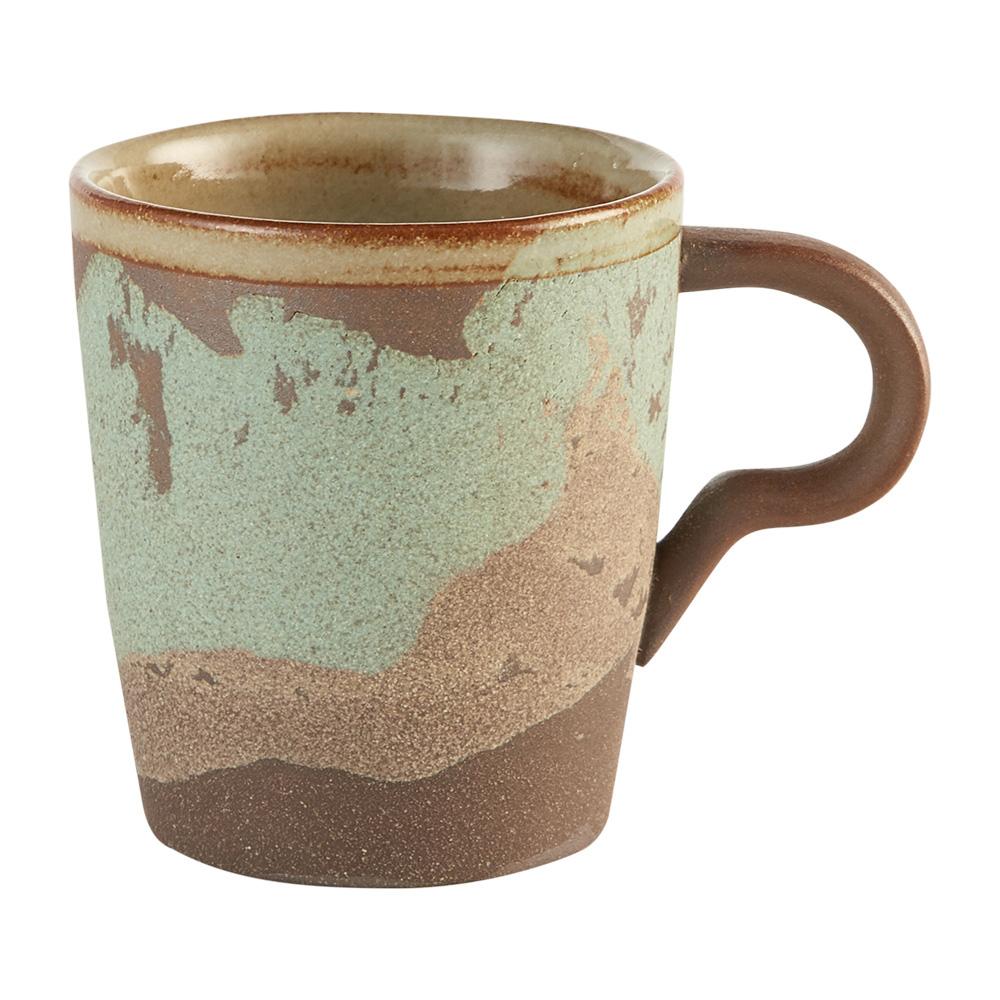 Aurli 品咖啡│老岩泥岩礦咖啡杯-恣意杯(碧波)