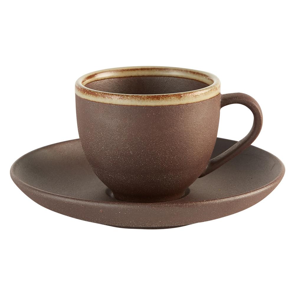 Aurli 品咖啡│老岩泥岩礦咖啡杯-隨心杯(點釉)