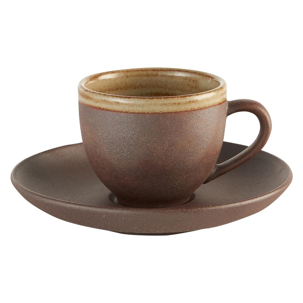 陶作坊xAurli 品咖啡│老岩泥岩礦咖啡杯-隨心杯(內釉)