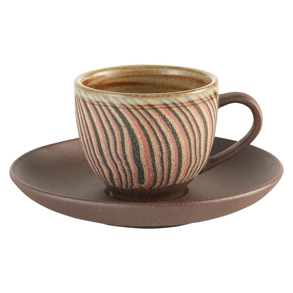 陶作坊xAurli 品咖啡│老岩泥岩礦咖啡杯-隨心杯(阡陌)