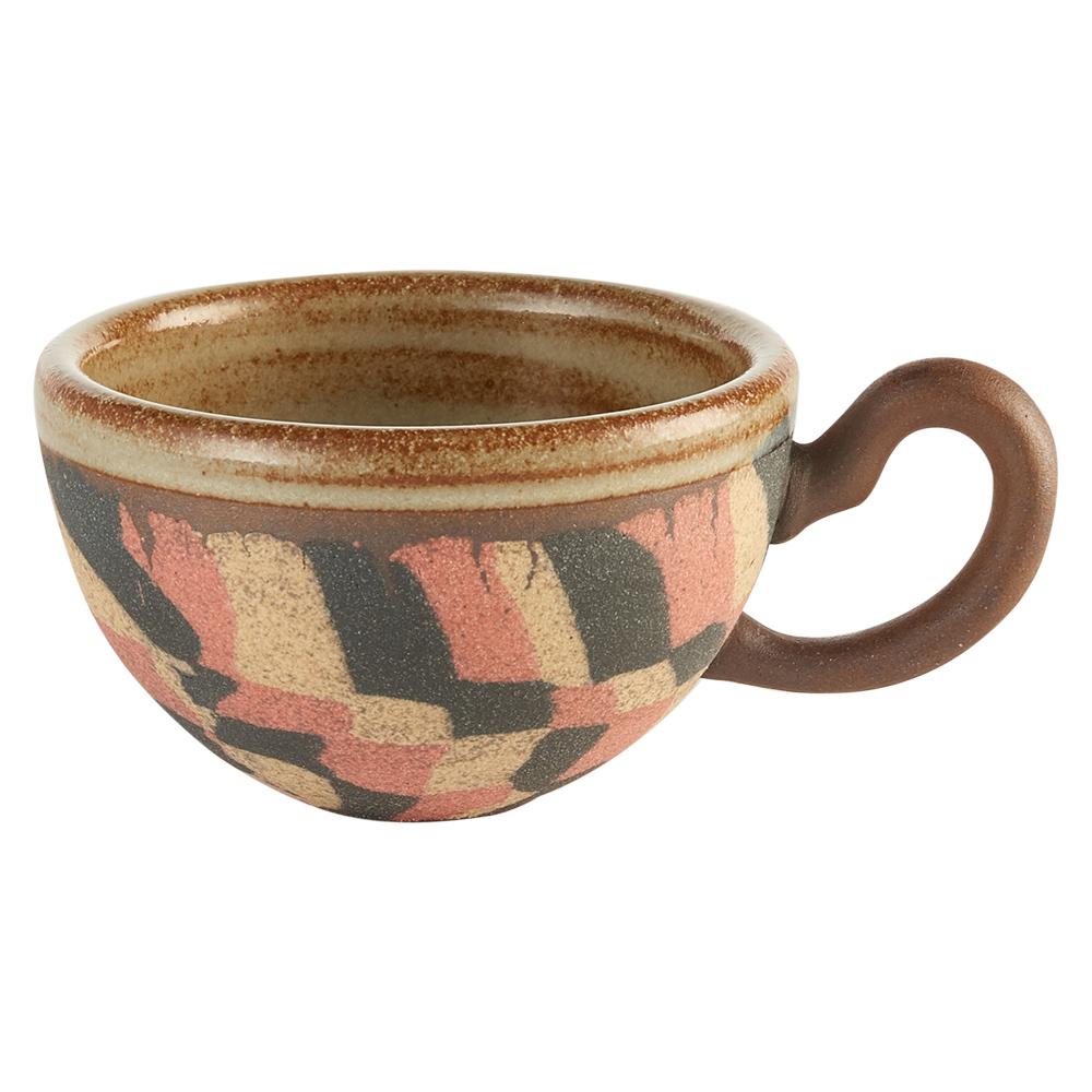 陶作坊xAurli 品咖啡│老岩泥岩礦咖啡杯-圓滿杯(盤古)