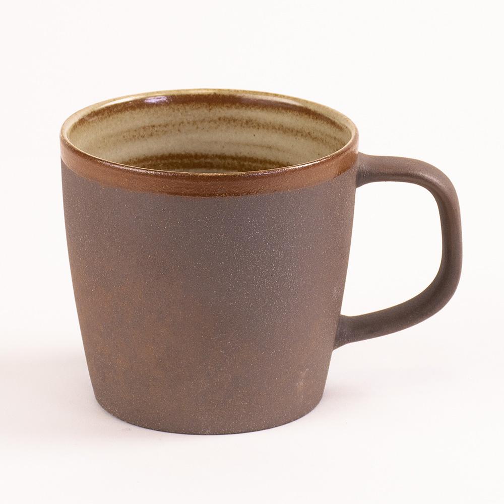 陶作坊xAurli 品咖啡│老岩泥岩礦咖啡杯-滿溢杯(內釉)