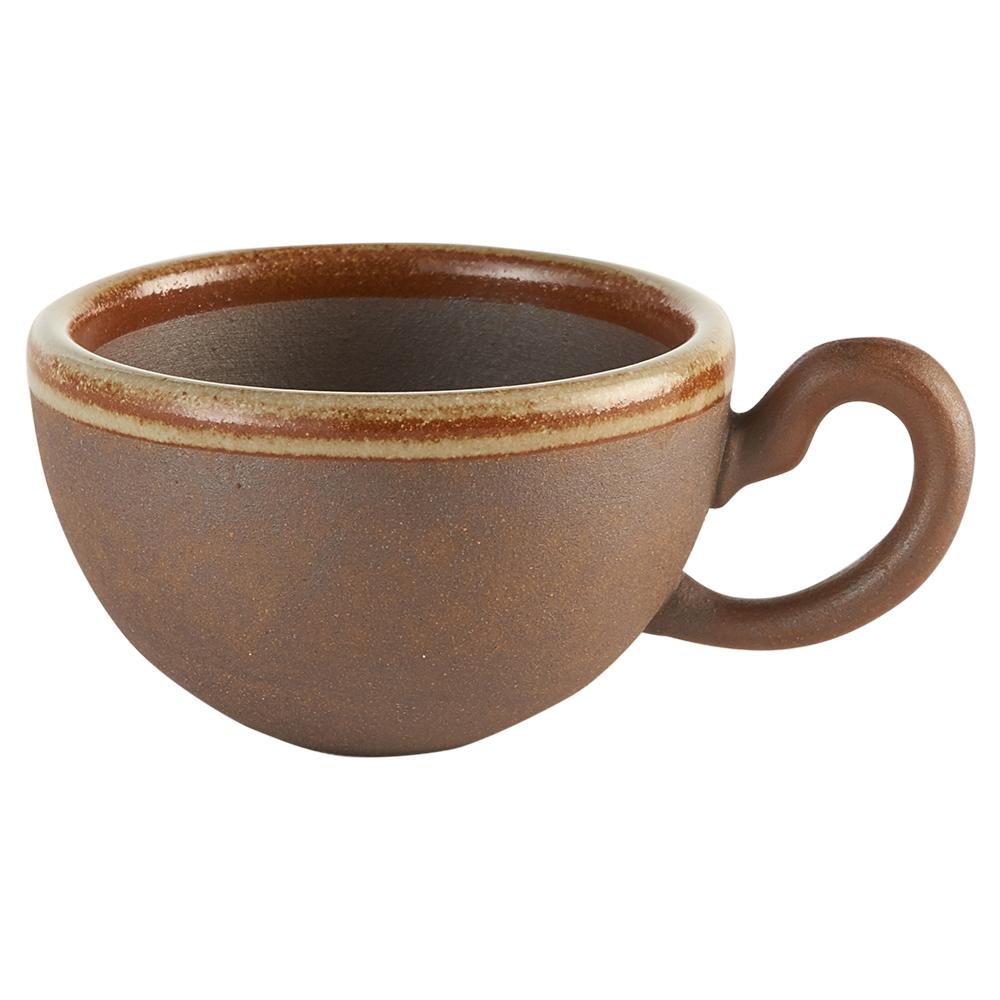 Aurli 品咖啡│老岩泥咖啡杯-圓滿杯系列(點釉)