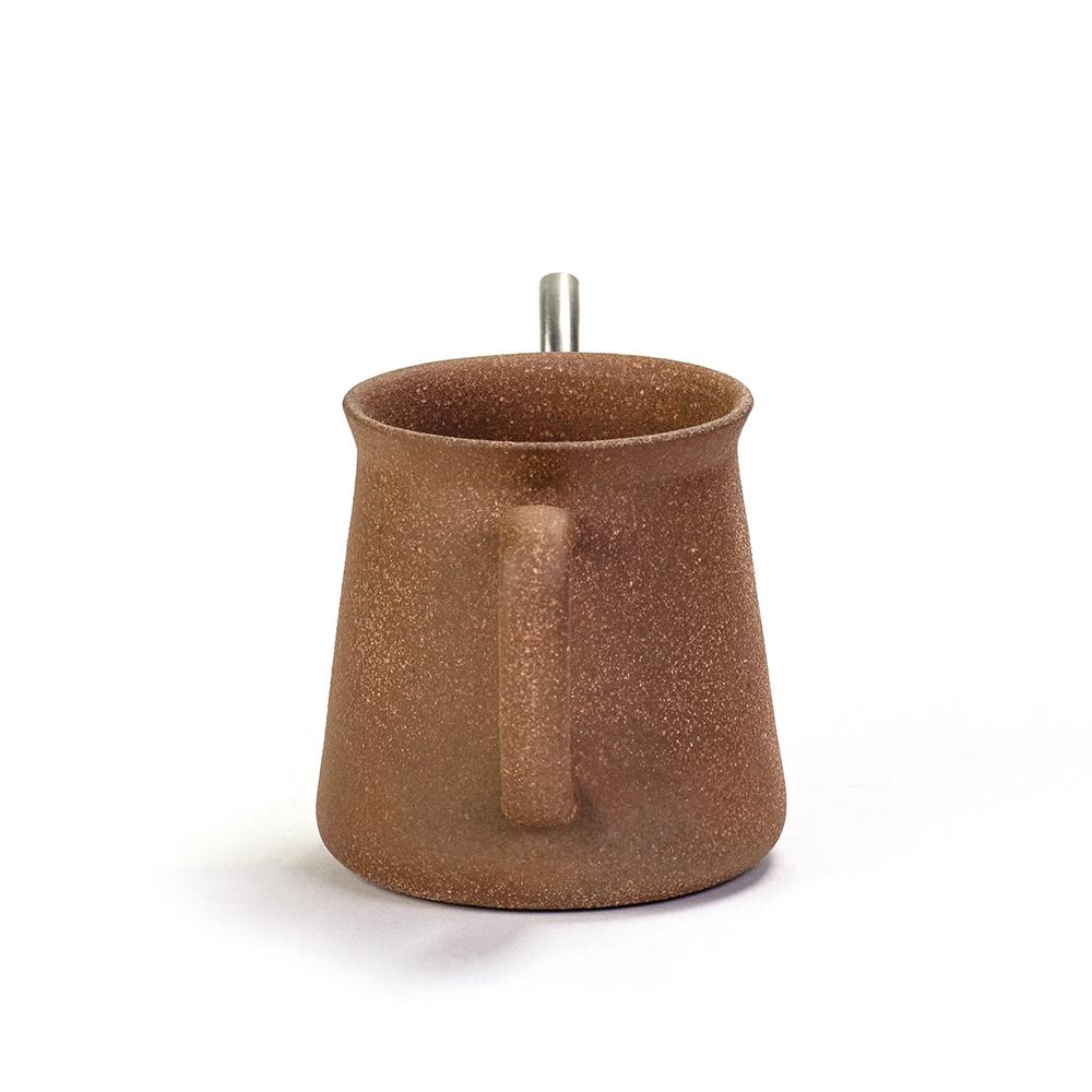 陶作坊xAurli 品咖啡│百錬手沖壺-老岩泥