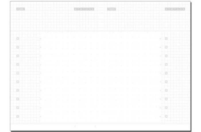 W2Design | Free-way 180天無時效日誌B6-若隱灰