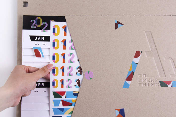 Papier TIgre | an everything 聯名商品_A DAY萬年曆