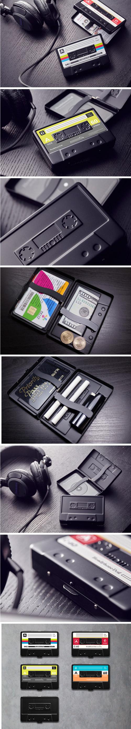 HeadphoneDog|金屬烤漆造型名片盒/煙盒