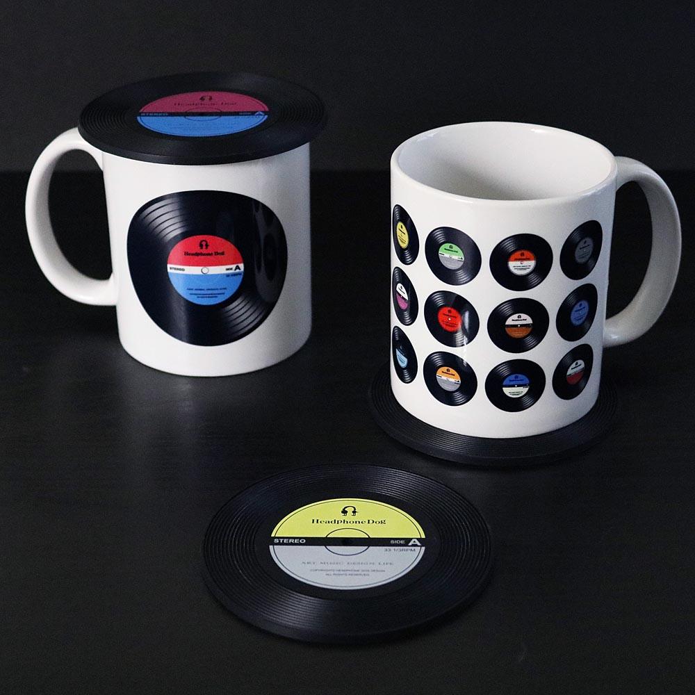 HeadphoneDog|黑膠唱片馬克杯/咖啡杯/水杯-很多唱片款