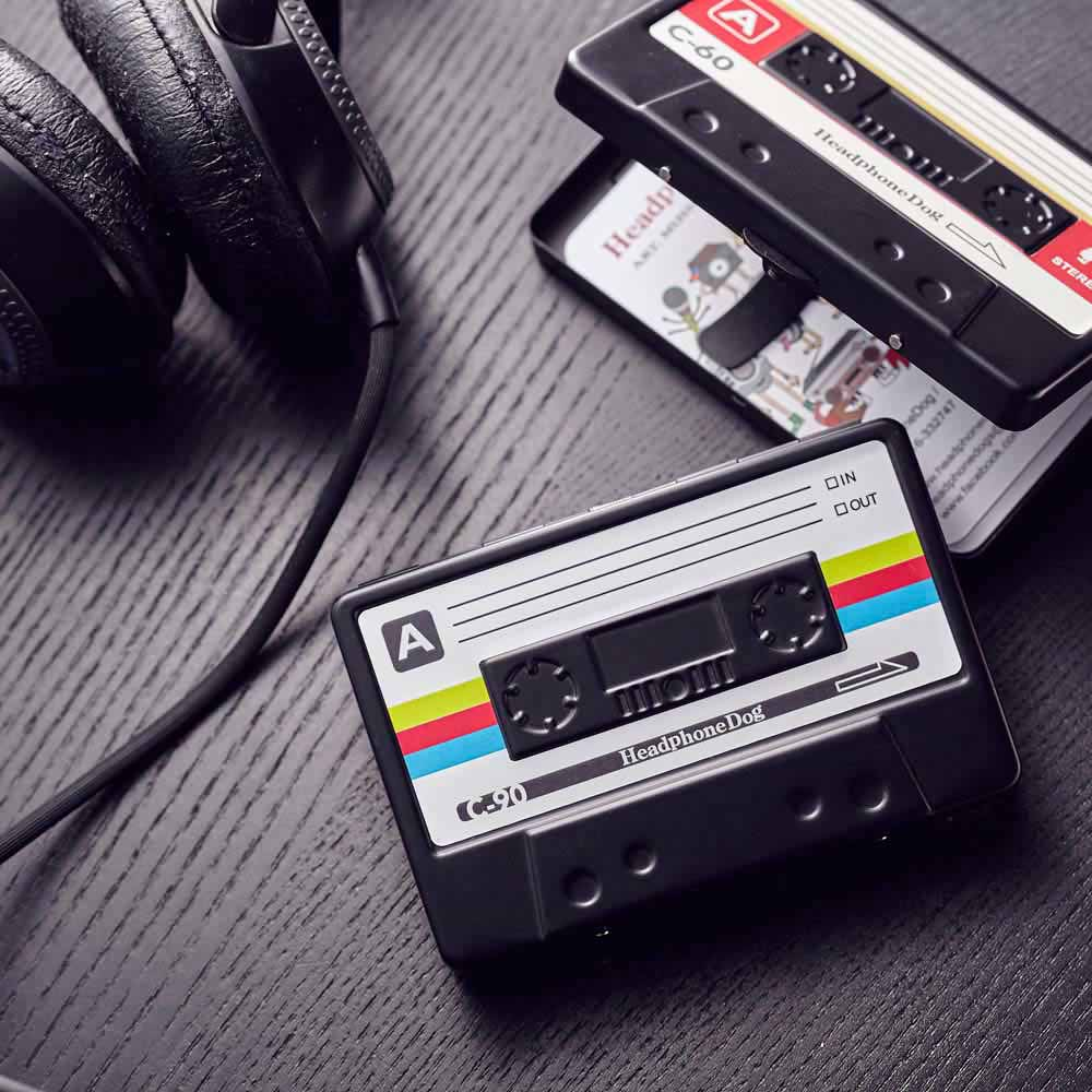 HeadphoneDog|音樂金屬名片盒/煙盒-情人2入組