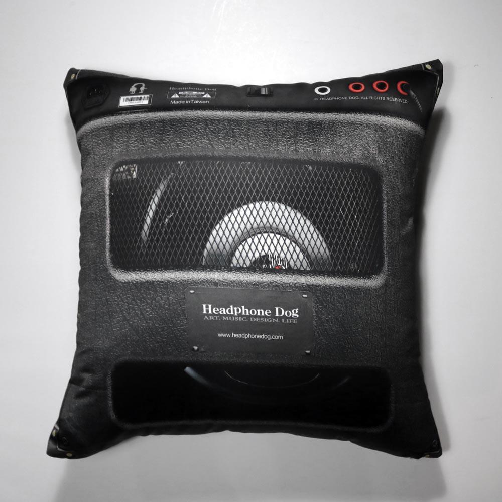 HeadphoneDog 音樂音箱抱枕/靠背-L