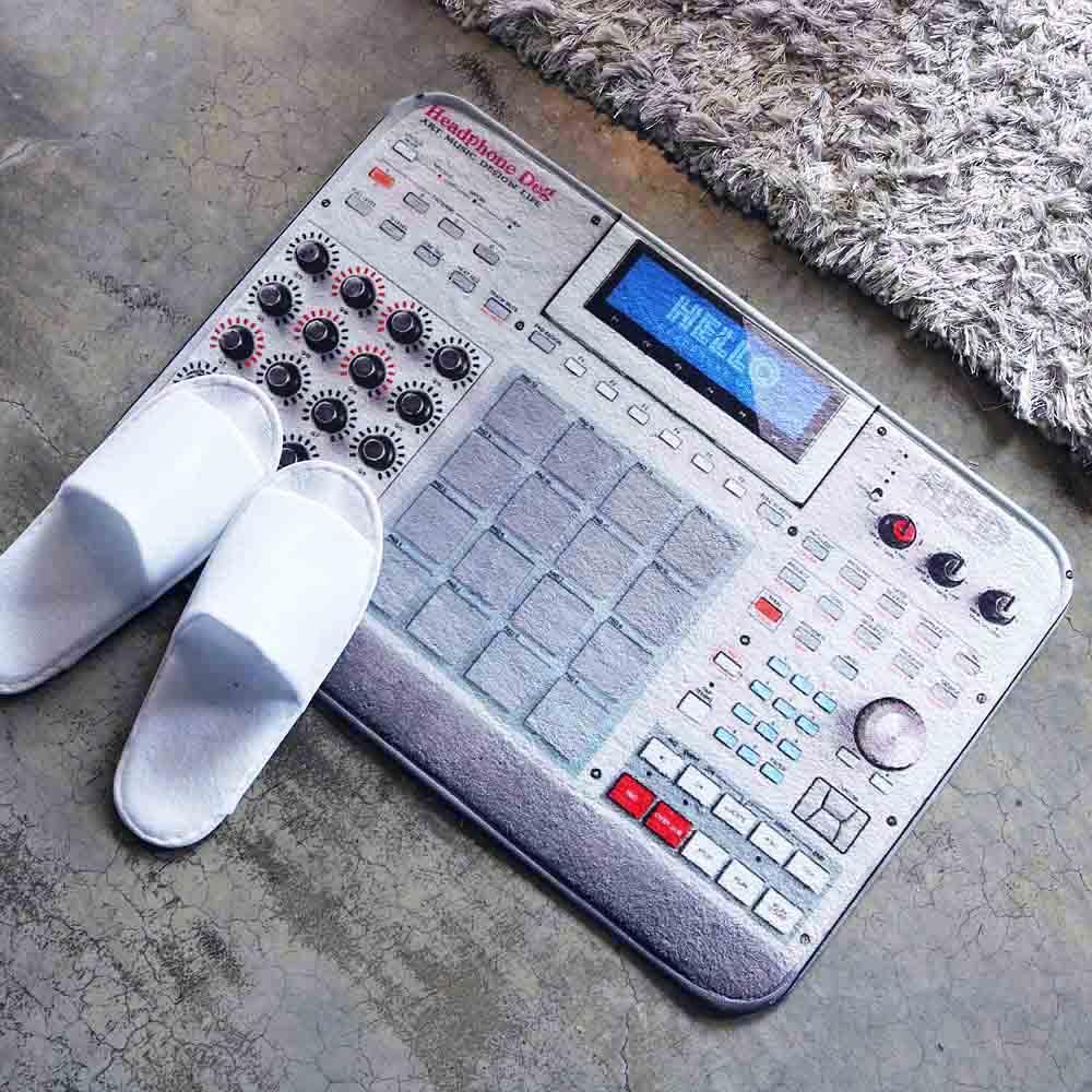 HeadphoneDog|音樂控制器地墊/門墊-L