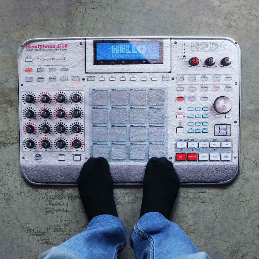 HeadphoneDog 音樂控制器地墊/門墊-L