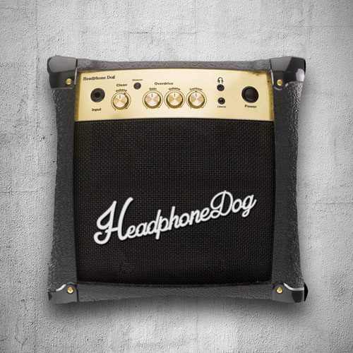 HeadphoneDog|音樂音箱抱枕/靠背-M