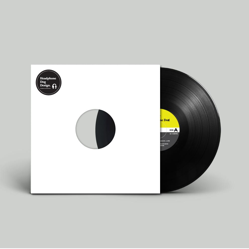 HeadphoneDog|唱片造型桌墊/餐墊/點心墊(1入)