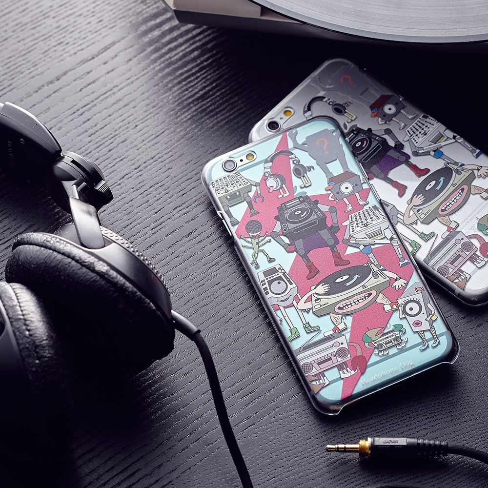 HeadphoneDog|清倉特價耳機狗音響人手機殼6/6+/7/8/plus-三色