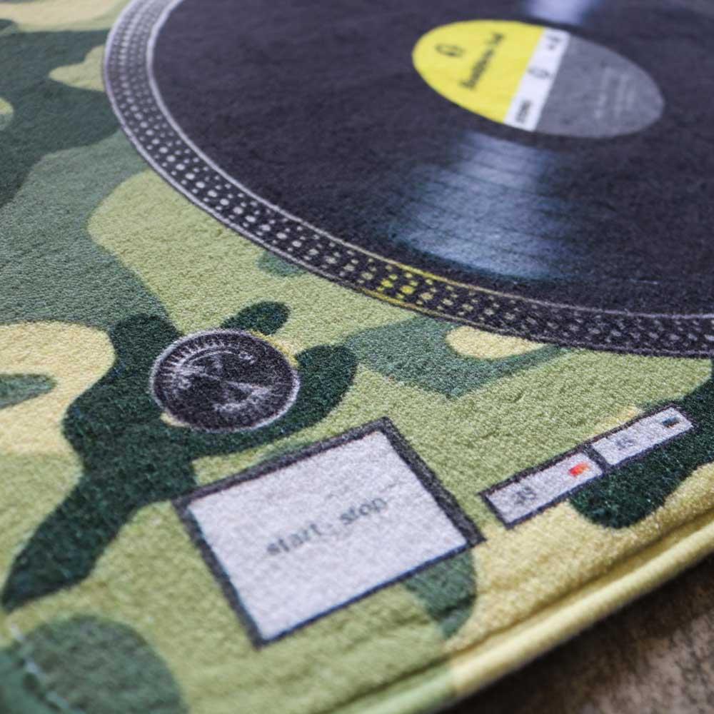 HeadphoneDog 黑膠唱盤地墊/門墊-L
