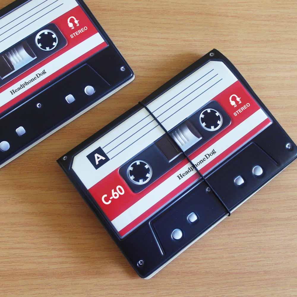 HeadphoneDog|錄音帶相機造型護照套證件夾