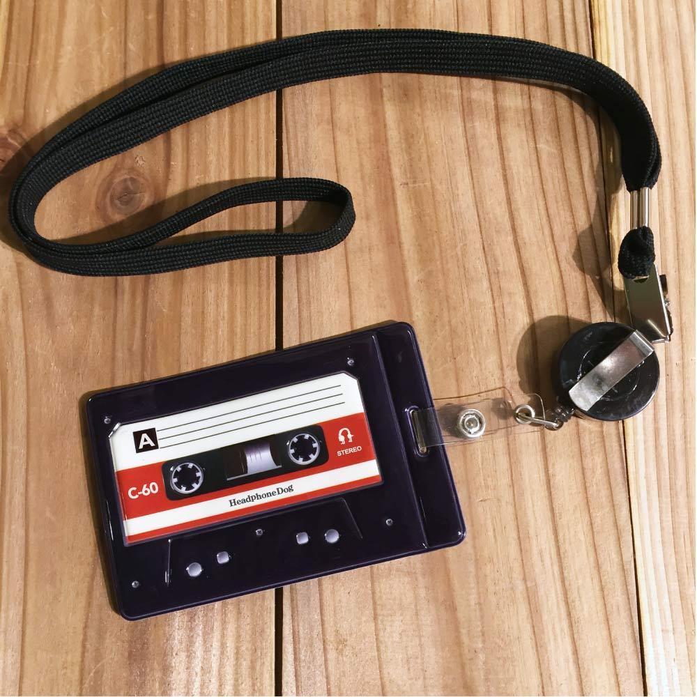 HeadphoneDog 錄音帶造型伸縮卡套