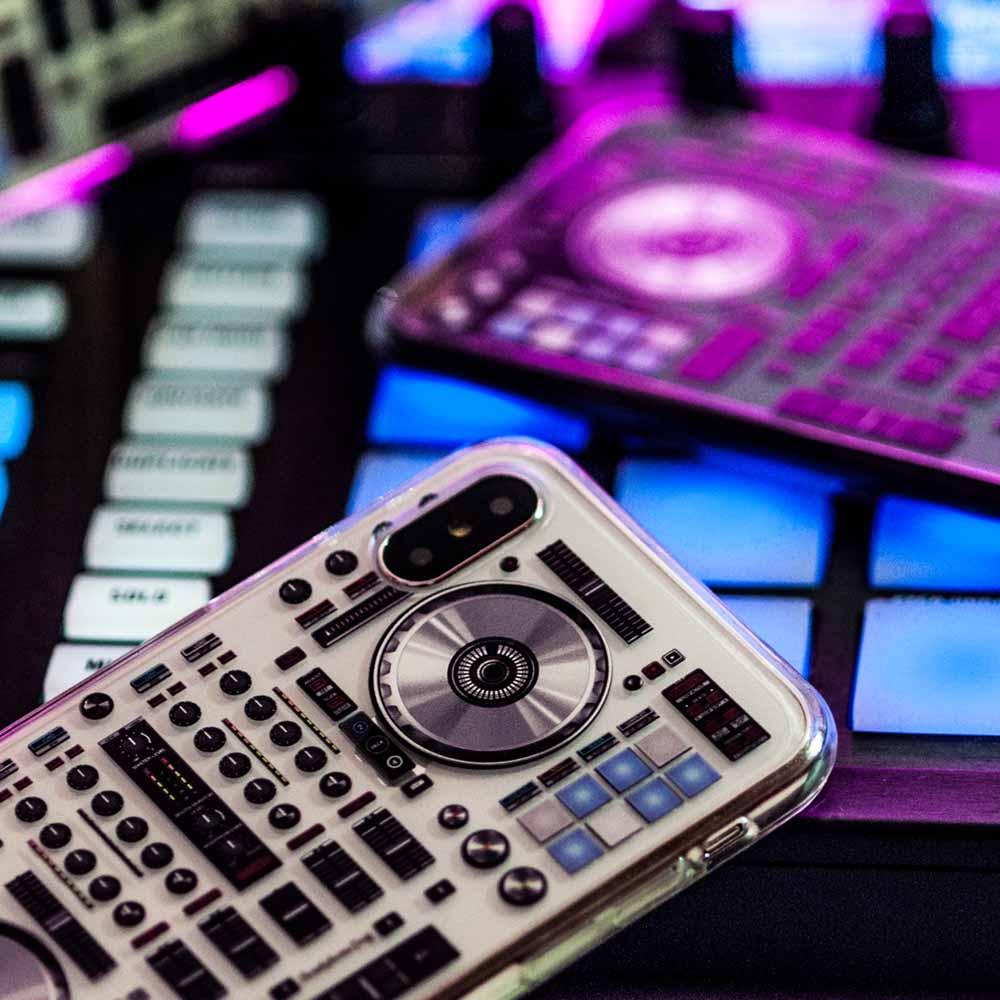 HeadphoneDog 第二代全新透明DJ耐摔手機殼