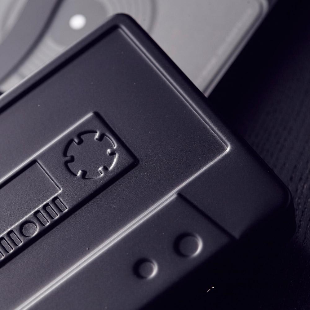HeadphoneDog 囂搞聯名款金屬卡帶名片盒/錢夾-熱情紅