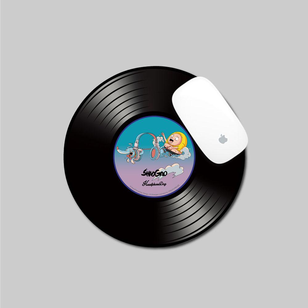 HeadphoneDog|囂搞聯名薄形唱片滑鼠墊