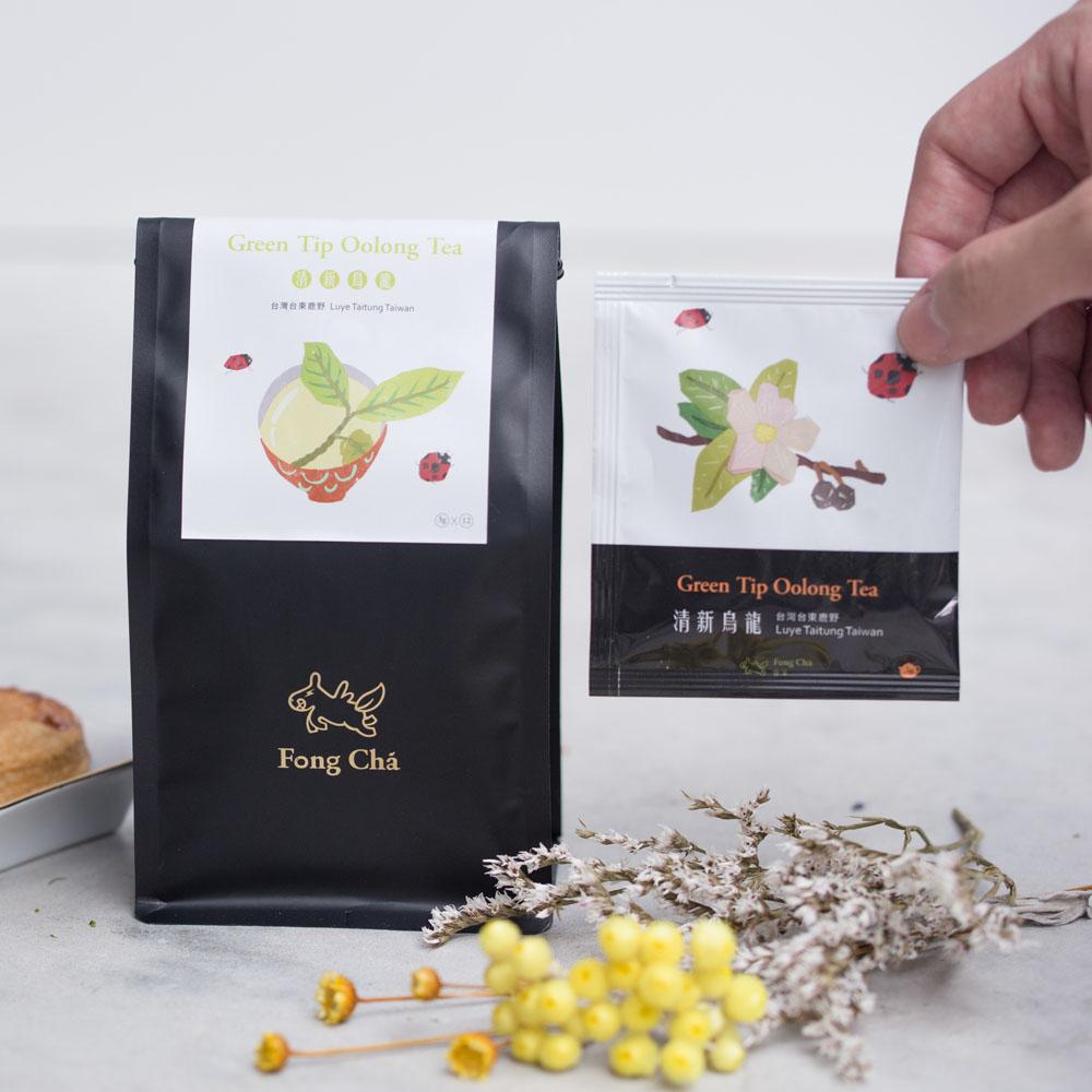 豐茶|台灣茶王手作茶-清新烏龍茶包