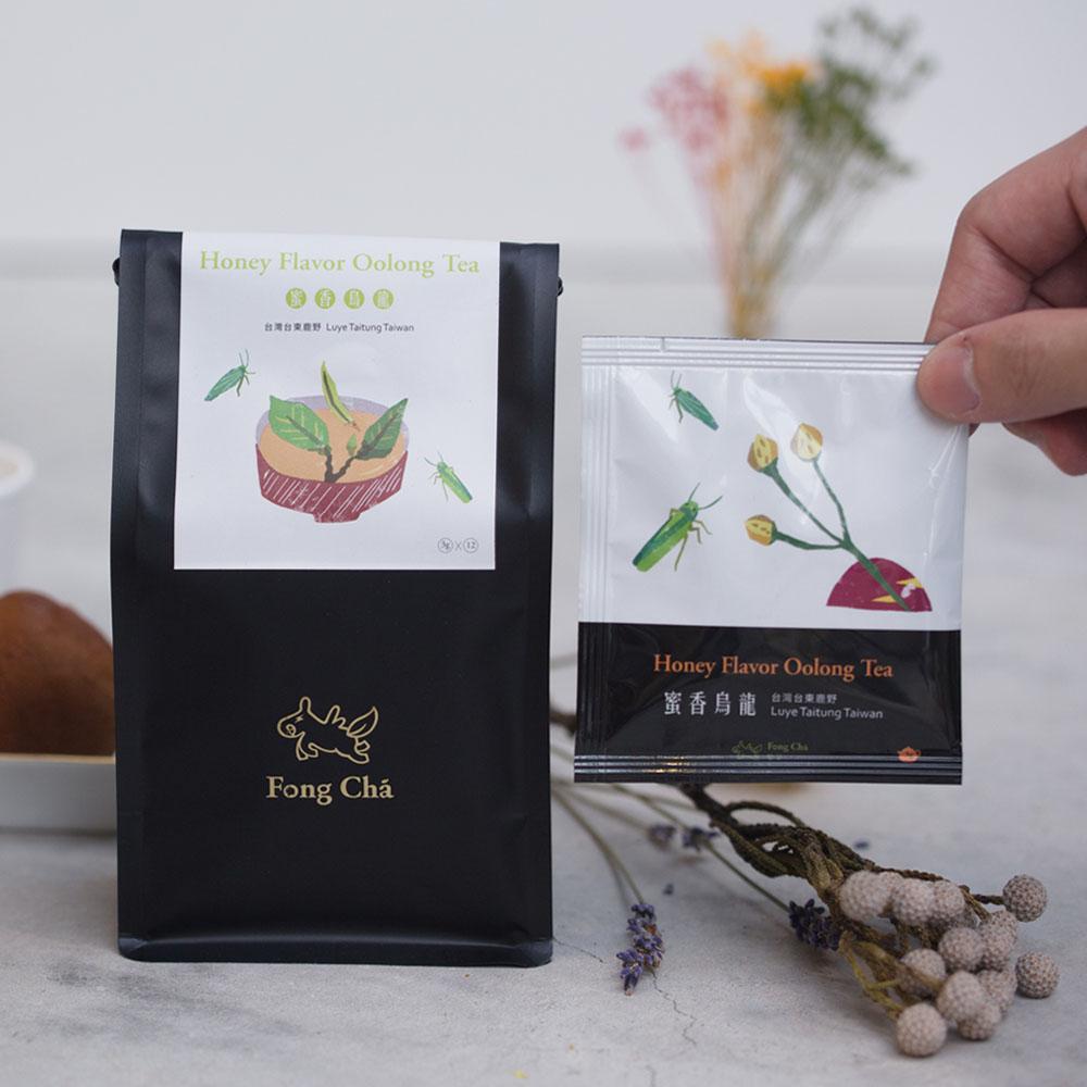 豐茶|台灣茶王手作茶-蜜香烏龍茶包