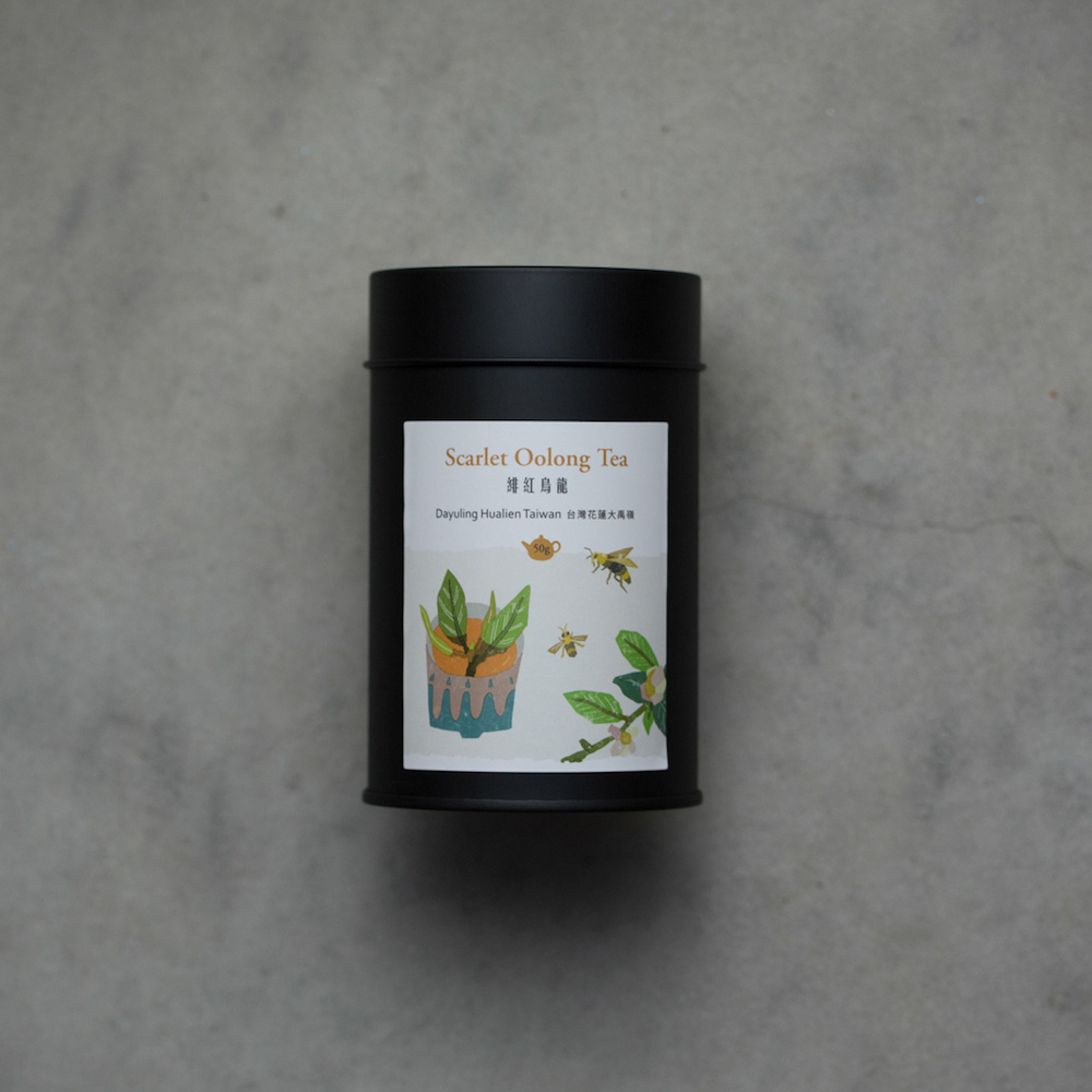豐茶 台灣茶王手作茶-緋紅烏龍茶