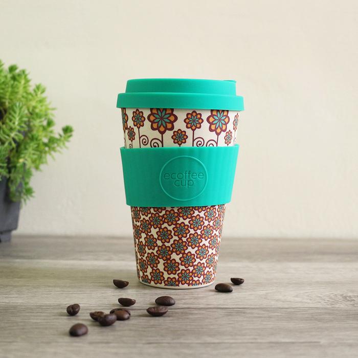Ecoffee Cup|環保隨行杯14oz-花樣款