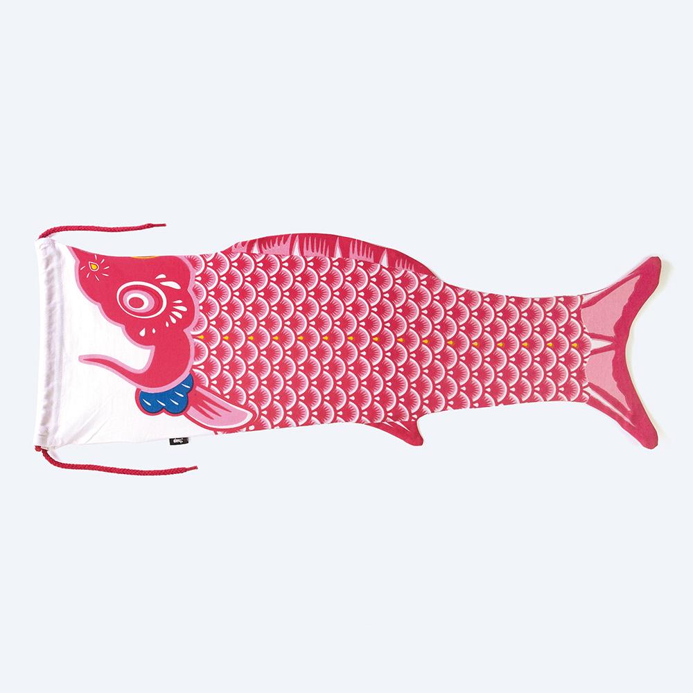 DOIY|鯉魚旗-旅行袋(紅)