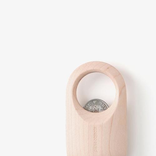 Pana Objects|零錢開瓶器(楓木)