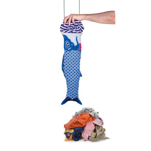 DOIY 鯉魚旗-旅行袋(藍)