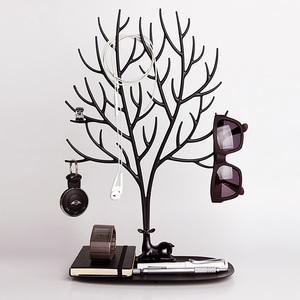 QUALY 森林鹿角L-飾品架(黑)