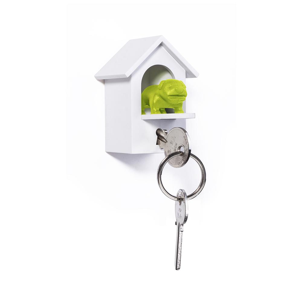 QUALY|看門狗-鑰匙圈(綠)