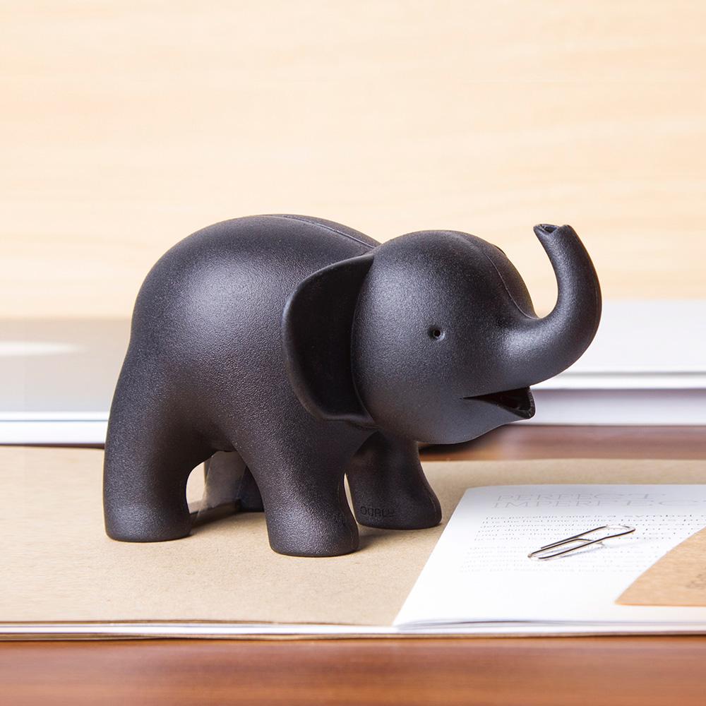 QUALY|小象噴水-膠帶組(灰)