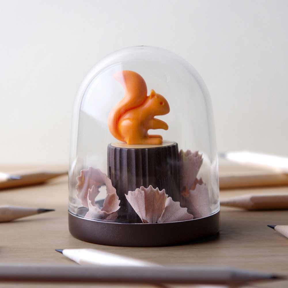 QUALY 松鼠愛森林-削鉛筆器