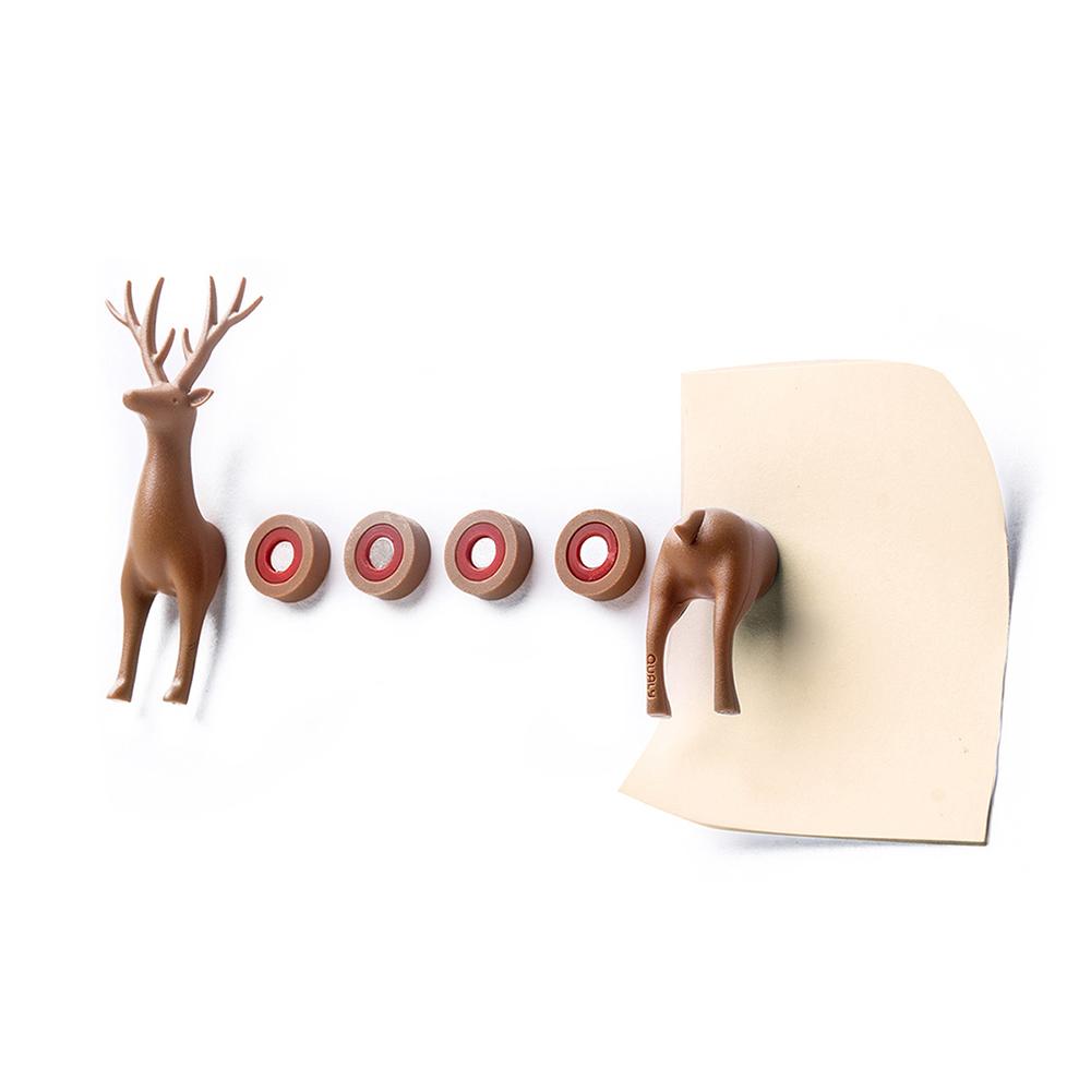 QUALY|森林鹿磁鐵