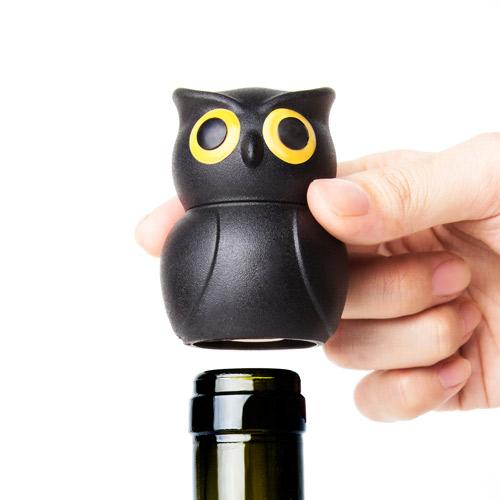 QUALY|貓頭鷹-酒瓶塞