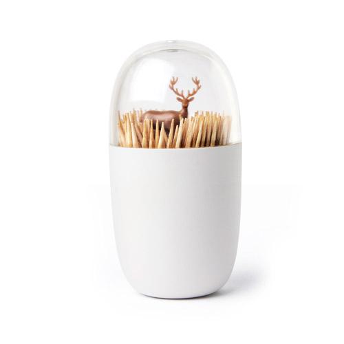 QUALY|牙籤罐(草原馴鹿)