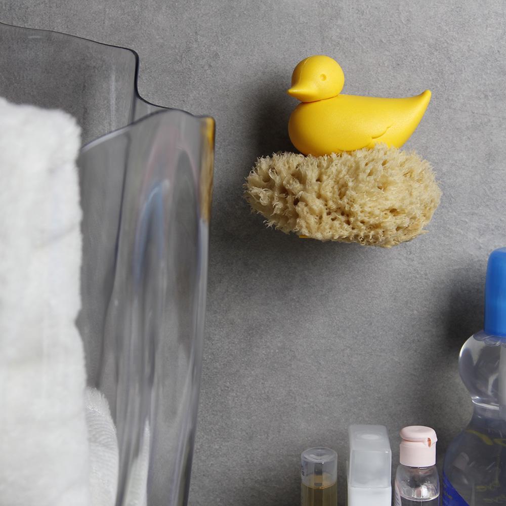 QUALY|戲水小鴨-海綿架