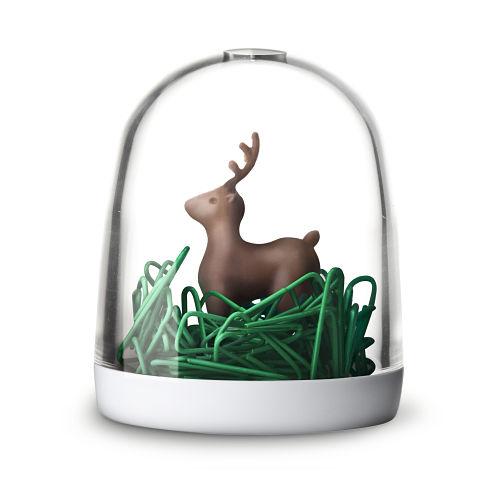 QUALY|森林鹿迴紋針組